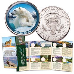 American Wildlife Series III Custom Folder and First Coin