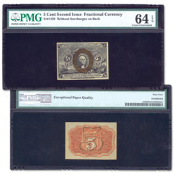1863-1867 5¢ Fractional Note