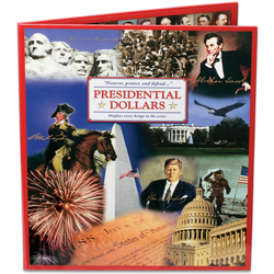 2007-2016 Presidential Dollar Deluxe Presentation Folder