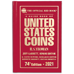 2021 Red Book - Guide Book of U.S. Coins (Hardcover)
