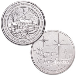 1 oz. Silver Round - Night Before Christmas