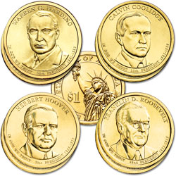 2014 Presidential Dollar P&D Mint Set (8 coins)