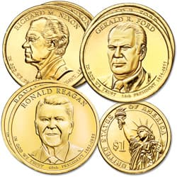 2016 Presidential Dollar P&D Mint Set