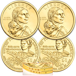 2020 P&D Native American Dollar Set