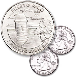 2009 P&D Puerto Rico Quarter Set (2 coins)