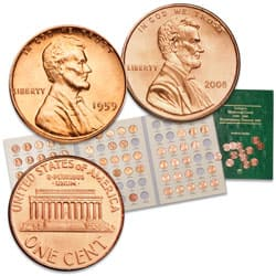 1959-2008 Memorial Lincoln Cent Set