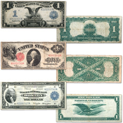 1899-1918 $1 Large-Size Note Collection