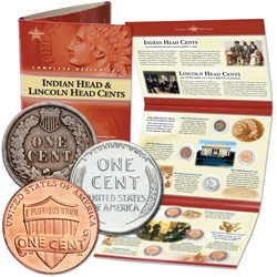 Classic American Coin Set - Cents
