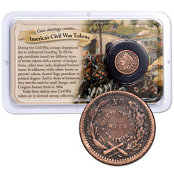 1862-1864 Civil War Token Showpak