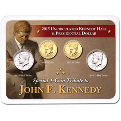 John F. Kennedy Life & Legacy Uncirculated Set in Showpak