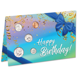 2018 U.S. Coin Happy Birthday Card
