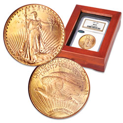1909-1932 Saint-Gaudens $20 Gold Double Eagle