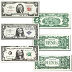1957-1969 Paper Money Seal Set