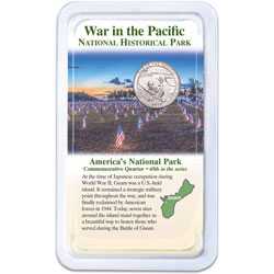 2019 War in the Pacific National Historical Park Quarter in Showpak