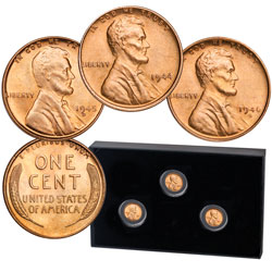 1944-1946 Lincoln Head Cent Shell Casing Set