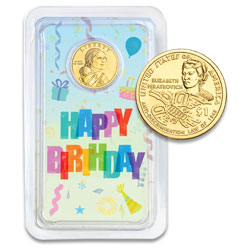 2020 Native American Dollar Happy Birthday Showpak