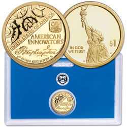 2018-S Washington's Signature U.S. Innovation Dollar in U.S. Mint Holder