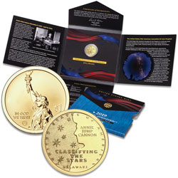 2019-S Delaware U.S. Innovation Dollar Reverse Proof