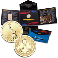 2019-S New Jersey U.S. Innovation Dollar Reverse Proof