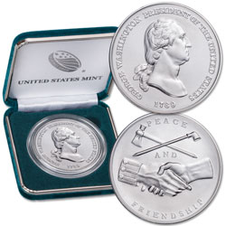 George Washington Presidential Silver Medal