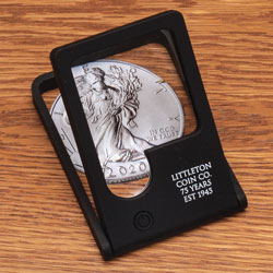 Littleton Coin Company 75th Anniversary Magnifier