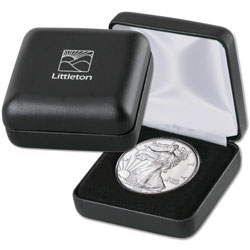 LCC Single Coin Leatherette Case