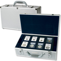 Lighthouse Deluxe Aluminum Coin Case