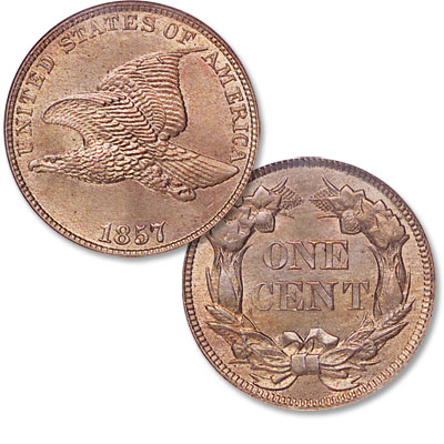 Image for 1857 Flying Eagle Cent from Littleton Coin Company