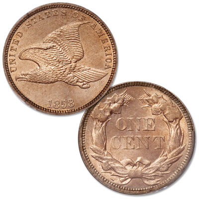Image for 1858 Flying Eagle Cent, Small Letters from Littleton Coin Company