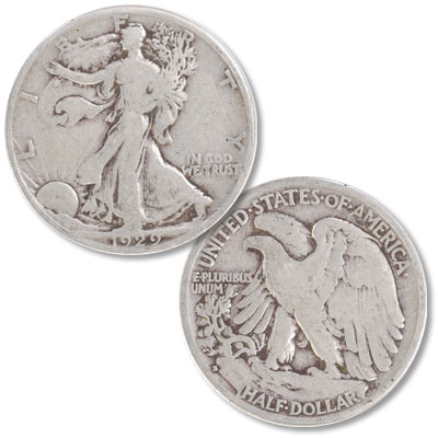 Image for 1929-S Liberty Walking Silver Half Dollar from Littleton Coin Company