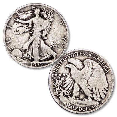 Image for 1935 Liberty Walking Silver Half Dollar from Littleton Coin Company