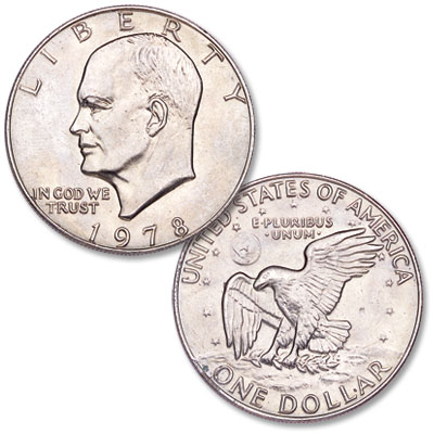 Image for 1978 Eisenhower Dollar, Copper-Nickel Clad from Littleton Coin Company