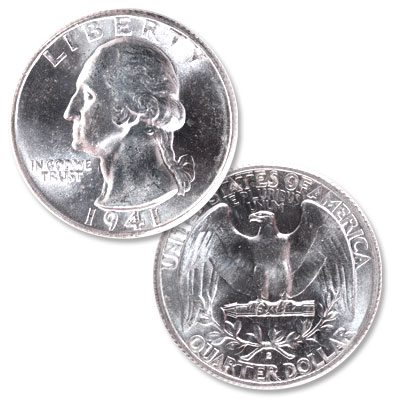 Image for 1941-S Washington Silver Quarter from Littleton Coin Company