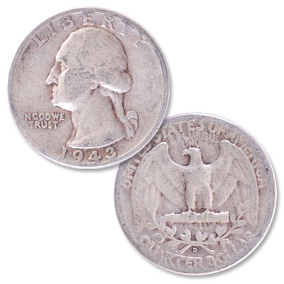 Image for 1943-D Washington Silver Quarter from Littleton Coin Company
