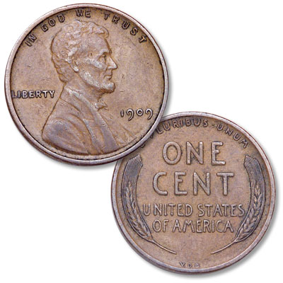 Image for 1909 V.D.B. Lincoln Head Cent from Littleton Coin Company