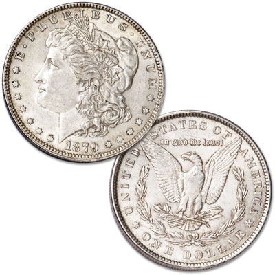 Image for 1879 Morgan Silver Dollar from Littleton Coin Company