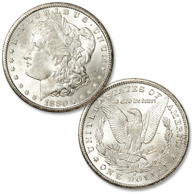 Image for 1880-O Morgan Silver Dollar from Littleton Coin Company