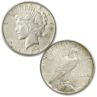 Image for 1923-D Peace Silver Dollar from Littleton Coin Company