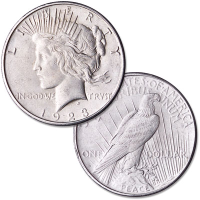 Image for 1923-S Peace Silver Dollar from Littleton Coin Company