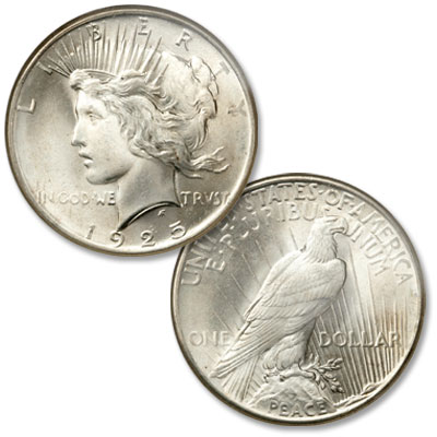 Image for 1925 Peace Silver Dollar from Littleton Coin Company