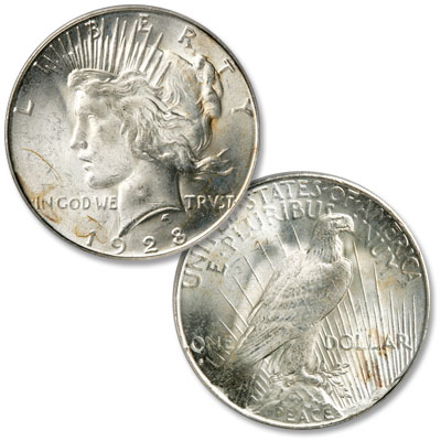 Image for 1928-S Peace Silver Dollar from Littleton Coin Company