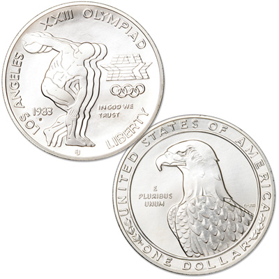 Image for Modern Commemorative - Silver - 1983-S MS63 from Littleton Coin Company