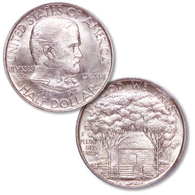 Image for 1922 Grant Memorial Silver Half Dollar from Littleton Coin Company