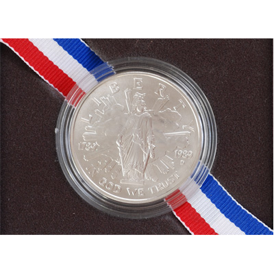 Image for Modern Commemorative - Silver - 1989-D MS63 from Littleton Coin Company