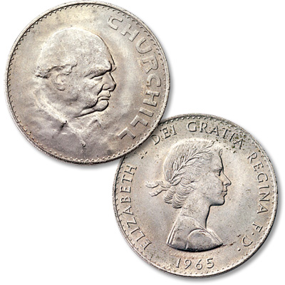 Image for 1965 Great Britain Churchill Crown MS60 from Littleton Coin Company