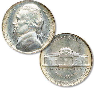 Image for 1942 Jefferson Nickel from Littleton Coin Company