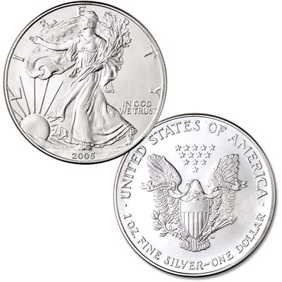 Image for 2005 $1 Silver American Eagle from Littleton Coin Company
