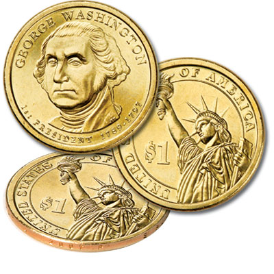 Image for 2007-P George Washington Presidential Dollar from Littleton Coin Company