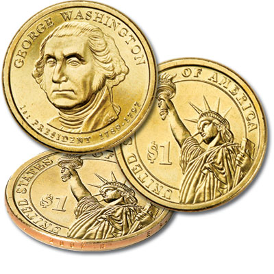 Image for 2007-D George Washington Presidential Dollar from Littleton Coin Company