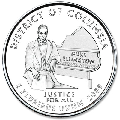 Image for 2009-D District of Columbia Territory Quarter from Littleton Coin Company